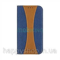 Чехол-книжка Goospery Canvas для Xiaomi Redmi 6 (Blue)