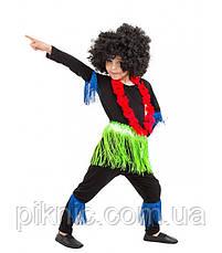 Костюм Папуас 5-9 лет Детский новогодний карнавальный костюм Африканец для мальчиков 344, фото 3