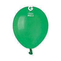 """Повітряні кульки пастель зелений Gemar"""" (Італія) (13 см) 100 шт"""