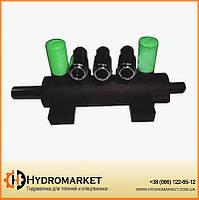 Корпус распределителя воздуха педального для шиномонтажного станка Hpmm, Unite, Protektor, Puli