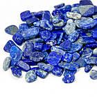 Бусины Натуральный Лазурит, Крошка, Цвет: Синий, Размер: 3~9x1~4мм, Без Отверстия, (УТ100008158)