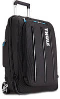 СУМКА THULE CROSSOVER 38L ROLLING CARRY-ON BLACK (TCRU115)