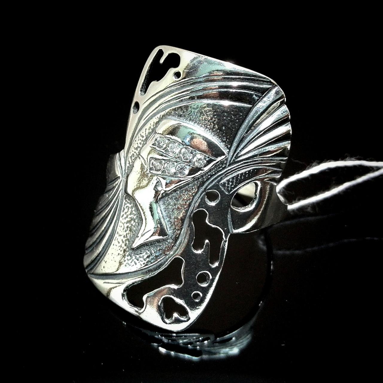 Серебряное кольцо Нефертити