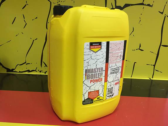 Жидкость для промывки теплообменников MASTER BOILER POWER 10 л , фото 2
