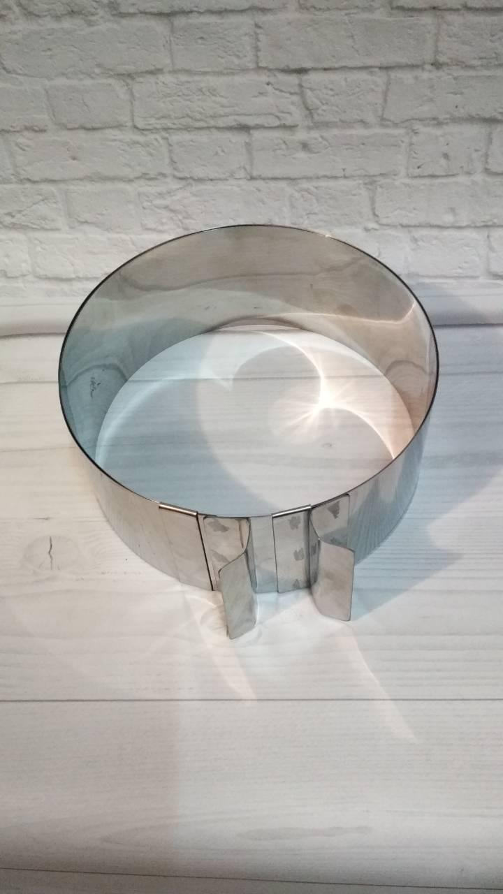 Кольцо раздвижное 8см диаметр 18-35см