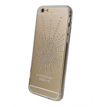 Чехол накладка силиконовый Diamond Younicou для Samsung S3 I9300 Silver Shine
