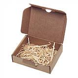 Новорічний набір з 6-ти дерев'яних іграшок, фото 6