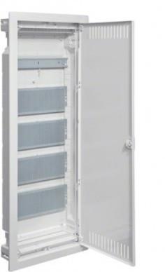 Щит мультимедийный Hager 880х348х94,5 внутренний 5 рядов металлическая дверца Volta VU60NWB