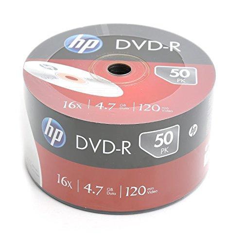 ElectricalCentre - DVD-R 4.7GB 16X (50 штук 120-миллиметрового записываемого DVD-накопителя навалом)