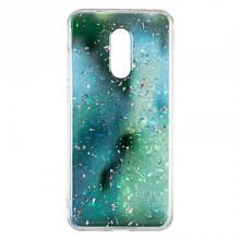 Чехол накладка силиконовый Baseus Light Stone для Samsung J810 J8 2018 зеленый
