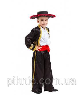 Костюм Тореадор 5-9 лет Детский новогодний карнавальный костюм для мальчиков 344, фото 2