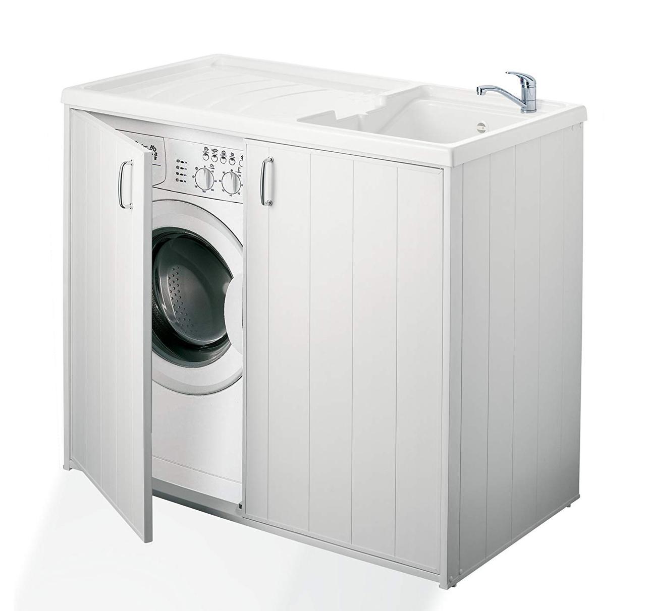 Шкаф для стиральной машины и умывальника - Negrari 6008SPPLK