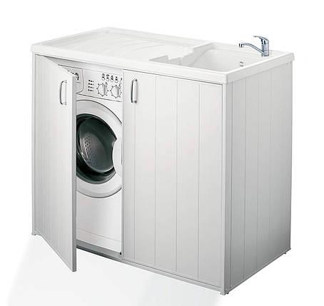 Шкаф для стиральной машины и умывальника - Negrari 6008SPPLK , фото 2