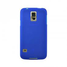 Чехол накладка силиконовый SK TPU Soft для Samsung J200 J2 синий