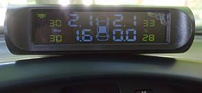 Система контролю тиску в шинах ZIRY TPMS 4-и колеса, зовнішні датчики