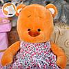 Плюшевый Мишка Тильда в платье, 44 см, фото 2