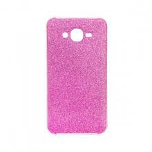 Чехол накладка силиконовый Remax Glitter для Samsung J320 J3 2016 розовый