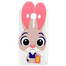 Чехол накладка силиконовый Зверополис Rabbit для iPhone 7