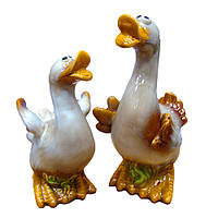 Статуэтка набор из керамики Гусь и Утка