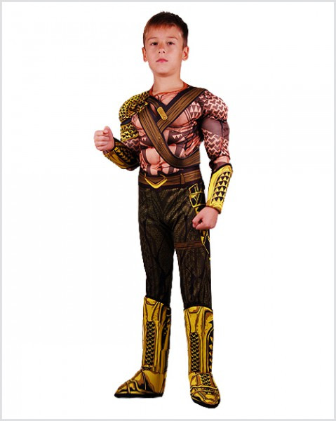 Детский карнавальный костюм Аквамена на праздник