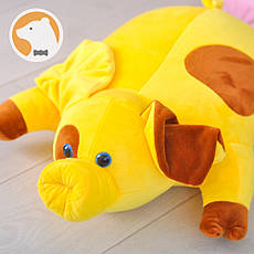 Подушка-игрушка Свинка Желтый