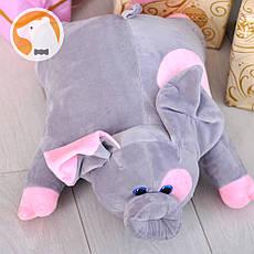 Подушка-игрушка Свинка Серый