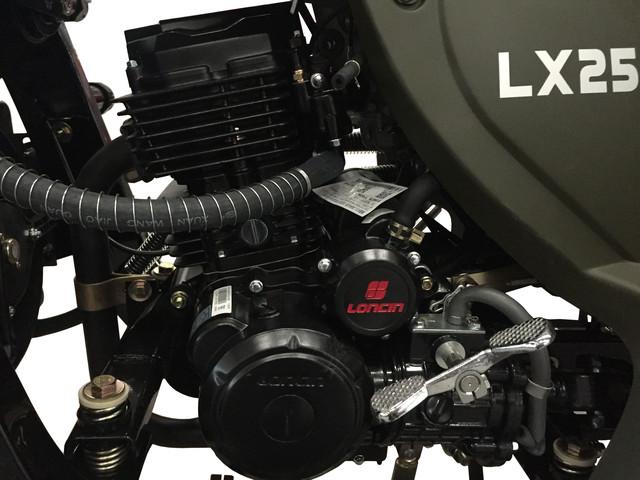 Loncin LX250ZH-11 Двигатель