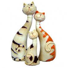 Набор фигурок из керамики Коты