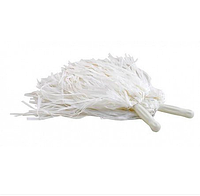 Помпоны для болельщиц Bonita Белые матовые 2 шт