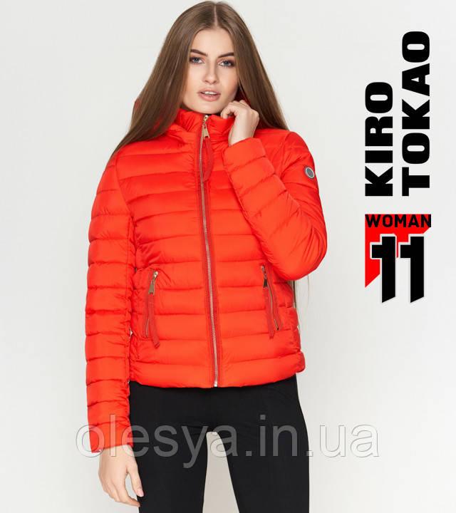 Kiro Tokao 1863   Куртка осенняя женская красная