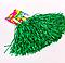 Помпоны для черлидинга Bonita Зеленые блестящие 2 шт