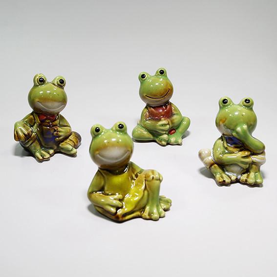 Керамические фигурки Лягушки