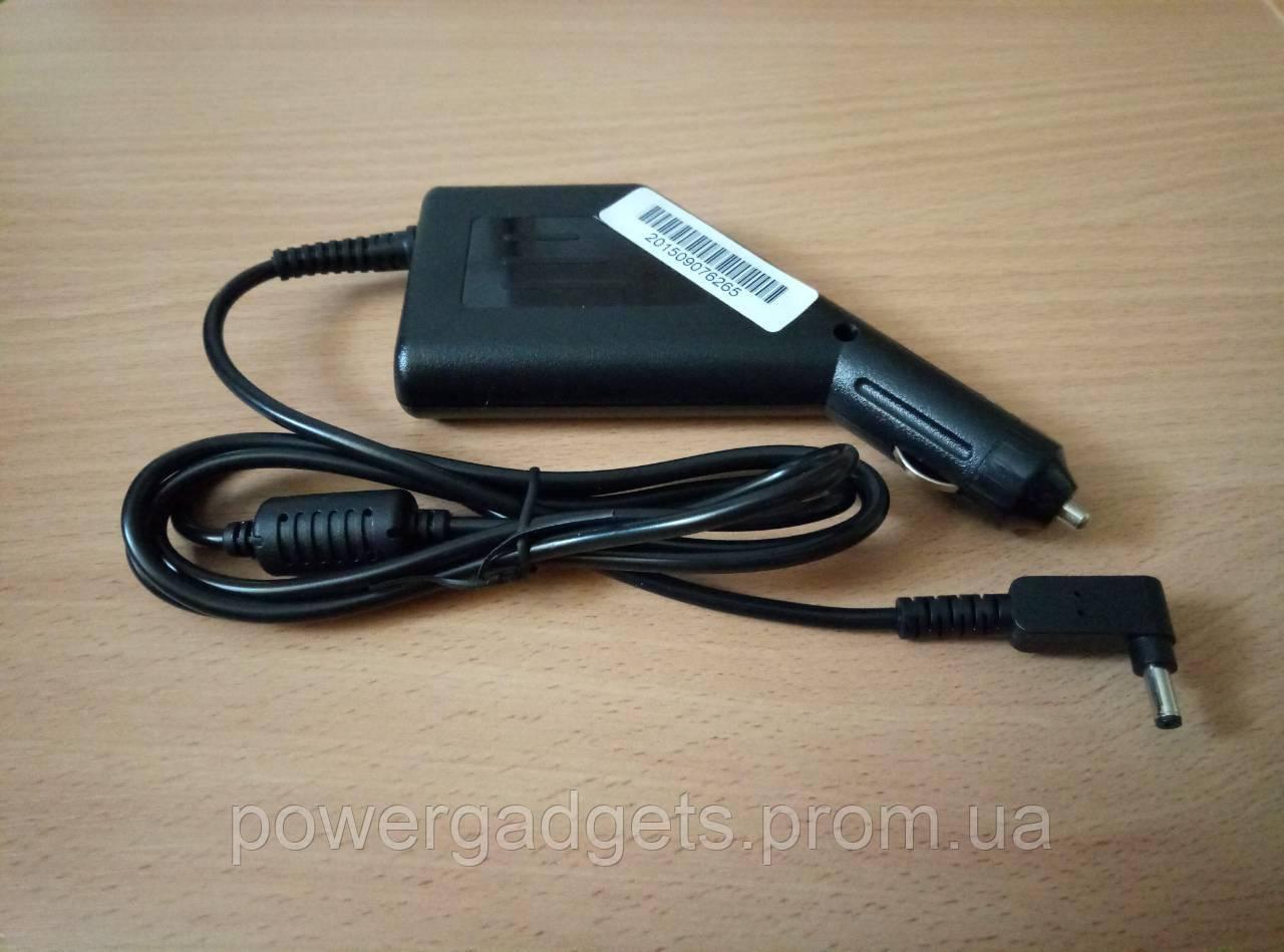 Автомобильная зарядка для ноутбуков Asus Zenbook,VivoBook 19V 4.74A 90W 4.0*1.35мм