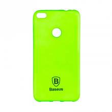 Чехол накладка силиконовый Baseus Soft Colorit для Xiaomi Redmi Note 4 зеленый