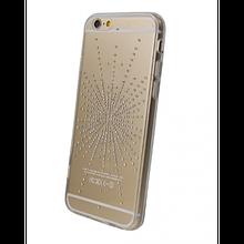 Чехол накладка силиконовый Diamond Younicou для Huawei P20 Lite Silver Shine
