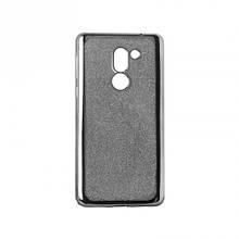 Чехол накладка силиконовый Remax Glitter Air для Xiaomi Redmi Note 4x черный