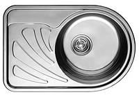 Germece Кухонная стальная мойка Germece 66 х 44 R микродекор