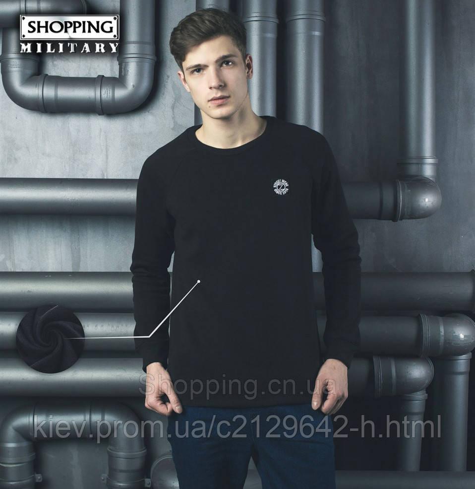 65d5cea140065 Свитер теплый мужской черный Patch Black - Shopping.cn.ua - интернет  магазин милитари