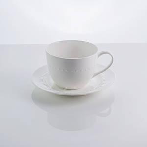 """Чашка с блюдцем фарфоровая """"Blob"""" 250 мл фарфор"""