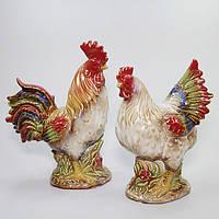 Фигурки интерьерные Петух и Курица