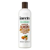 Шампунь для волос разглаживающий с маслом миндаля Inecto Naturals Almond Shampoo  Lambre / Ламбре 500 ml