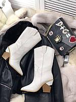 Шикарные женские ботинки FENDI казаки (реплика), фото 1