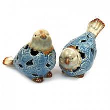 Подарочная фигурка набор Птицы из керамики