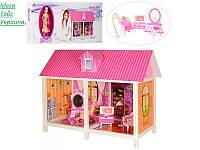 Кукольный домик с куклой  и мебелью, фото 1
