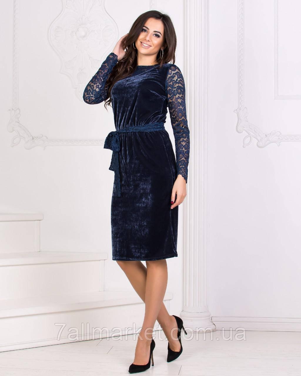 149b67a1595 Платье женское вечернее с гипюром