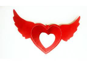 Набор сердец подвесных 10 шт арт 2012, фото 2