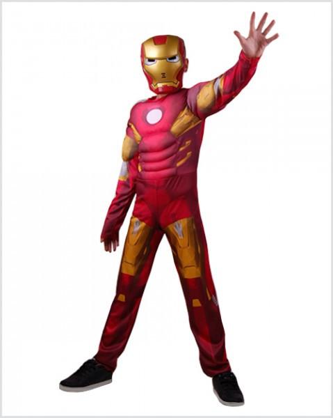 Детский красный костюм Железного человека