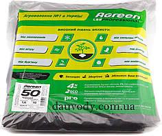 Агроволокно черное 50 плотность (1,6м*10м) Agreen
