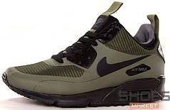 Мужские зимние кроссовки Nike Air Max 90 Mid Winter Khaki