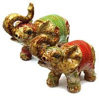 Керамические фигурки в подарок Слоны